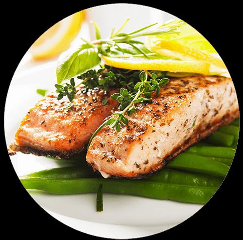 Dieta wegetariańska z rybami catering dietetyczny Top Dieta Warszawa